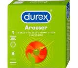 Durex Arouser kondom, nominální šířka 53 mm 3 kusy
