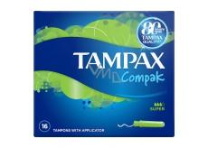 Tampax Compak Super dámské tampony 16 kusů