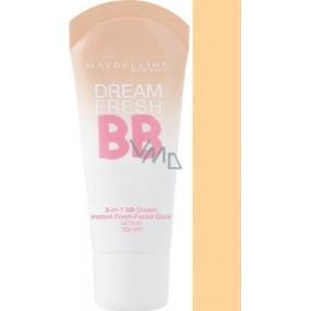 Maybelline Dream Fresh 8v1 SPF30 BB krém 02 Light 30 ml