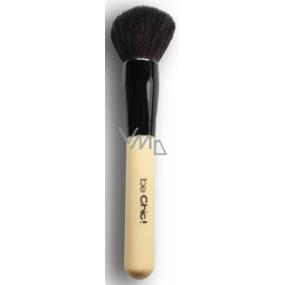 Be Chic! Professional White B 01 kosmetický štětec na pudr, přírodní kozí vlas 17,5 cm