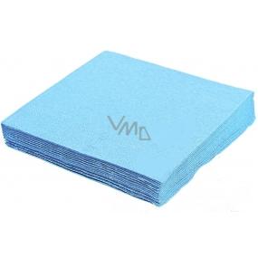 Gastro Papírové ubrousky barevné světle modré 2 vrstvé 33 x 33 cm 50 kusů