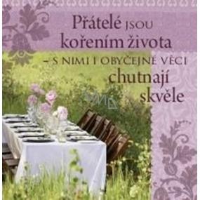 Albi Dárková kuchyňská utěrka s potiskem - Přátelství 70 x 35 cm