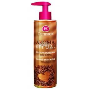 Dermacol Aroma Ritual Irská káva Opojné mýdlo na ruce 250 ml