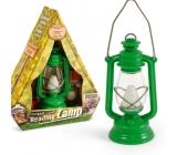 If The Base Camp Reading Lamp Táborová lucernička Zelená 44 x 40 x 117 mm
