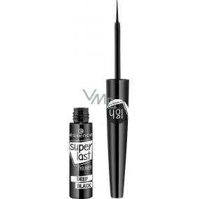 Essence Superlast Eyeliner Deep Black oční linky 3 ml