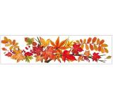 Room Decor Okenní fólie pruh s podzimním listím 59 x 15 cm č. 3