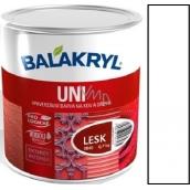 Balakryl Uni Lesk 1000 Bílý univerzální barva na kov a dřevo 700 g