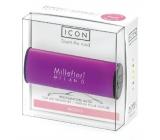 Millefiori Icon Melody Flowers - Akordy květin Vůně do auta Classic fialová voní až 2 měsíce 47 g