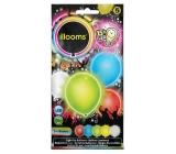 Svítící LED balónky barevný mix 4 kusy