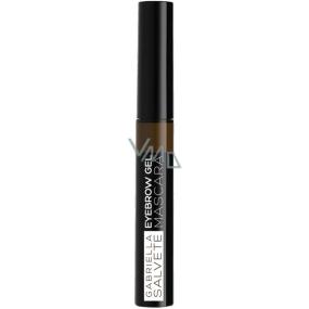 Gabriella Salvete Eyebrow gelová řasenka na obočí 02 Brunette 6,5 ml