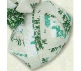 Nekupto Klubíčko Luxus vánoční bílé se zeleným 1 cm x 10 m KB 210 50