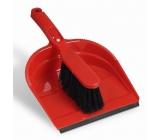 Spontex Souprava smetáček s lopatkou s gumovou lištou 1 kus různé barvy