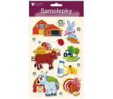 Room Decor Samolepky farma 3D Kozlík 13 x 23 cm