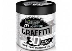 Bielenda Graffiti 3D Extra Strong Protein gel na vlasy 250 g