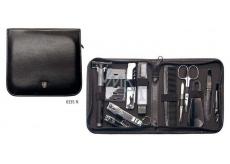 Kellermann 3 Swords Luxusní manikúra 12 dílná Artical Leather Travelling Kit