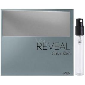 DÁREK Calvin Klein Reveal for Man toaletní voda 1,2 ml s rozprašovačem, Vialka