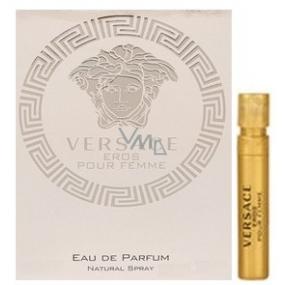 Versace Eros pour Femme parfémovaná voda pro ženy pro ženy 1 ml s rozprašovačem, Vialka