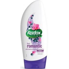 Radox Feel Romantic krémový sprchový gel 250 ml