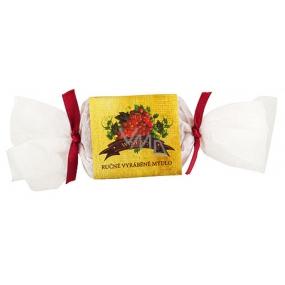 Bohemia Natur Wine Spa s glycerinem ručně vyráběné toaletní mýdlo bonbon 30 g