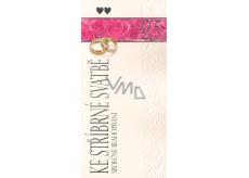 Nekupto Přání ke stříbrné svatbě Srdečné blahopřání, G 21 3241