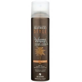 Alterna Bamboo Style Cleanse Extend Translucent Dry Shampoo Mango Coconut neviditelný, transparentní suchý šampon Mini 35 ml