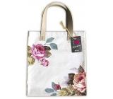 Ditipo Růže módní textilní taška 35 x 38 cm