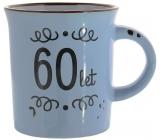 Albi Plecháček keramický hrnek s nápisem 60 let 320 ml