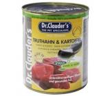 Dr. Clauders Krocan a brambory kompletní superprémiové krmivo pro psy 400 g