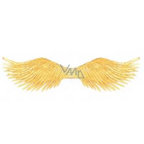 Křídla zlatá rozložení 96 cm