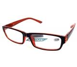 Berkeley Čtecí dioptrické brýle +2,0 plast černo oranžové 1 kus MC2062