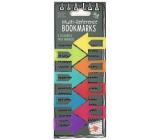 If Multi - Reference Bookmarks Záložky do knihy Barevné šipky 47 x 1,8 x 3 mm