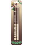Nekupto Hobby dřevěné tužky Nejlepší houbař 2 kusy