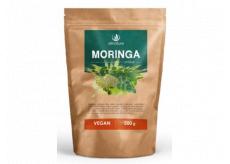 Allnature Moringa prášek RAW superpotravina, která patří k největším zdrojům proteinů doplněk stravy 200 g