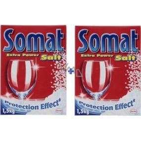 Somat sůl do myčky s ochranným účinkem 2 x 1,5 kg