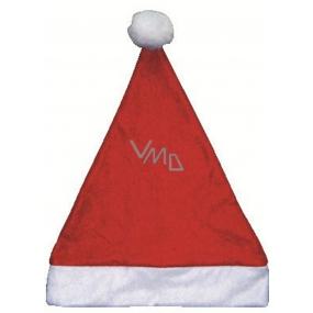Mikulášská čepice Santa 38 x 30 cm