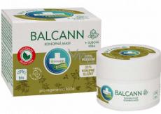 Annabis Balcann konopná mast na regeneraci kůže na suchou popraskanou pokožku 15 ml