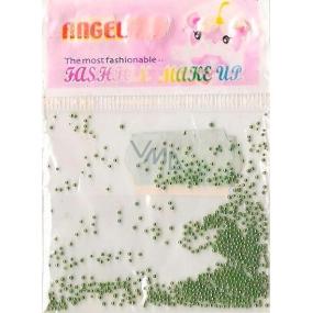 Angel Ozdoby na nehty kuličky zelené 1 balení