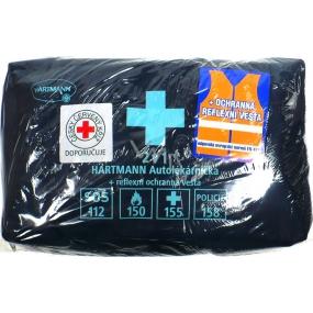 Hartmann Autolékárnička taška modrá podle nové vyhlášky + reflexní ochranná vesta 1 kus