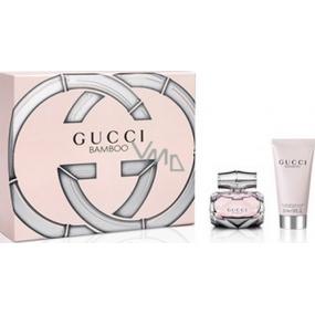 Gucci Bamboo parfémovaná voda 30 ml + tělové mléko 50 ml, dárková sada
