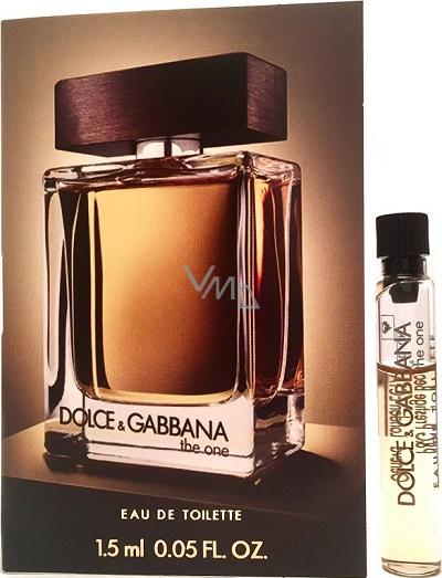 Dolce   Gabbana The One for Men toaletní voda 2 ml, Vialka - VMD parfumerie  - drogerie de34fc84b925