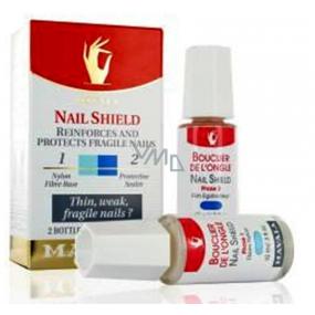 Mavala Nail Shield dvoufázový přípravek na posilnění nehtů 2 x 10 ml