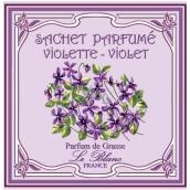 Le Blanc Violette - Fialka Vonný sáček 11 x 11 cm 8 g
