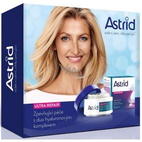 Astrid Ultra Repair Zpevňující denní krém proti vráskám 50 ml + noční krém 50 ml, kosmetická sada