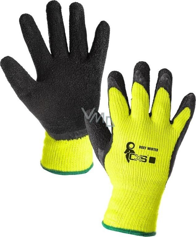 CXS Roxy Winter Rukavice pracovní zateplené velikost 10 černo-fosforové 86dd4faf30