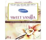 Kappus Sweet Vanilla - Sladká Vanilka luxusní toaletní mýdlo 20 g