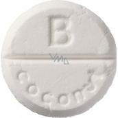 Bomb Cosmetics Kokos - Coconut aromaterapie tableta do sprchy 1 kus