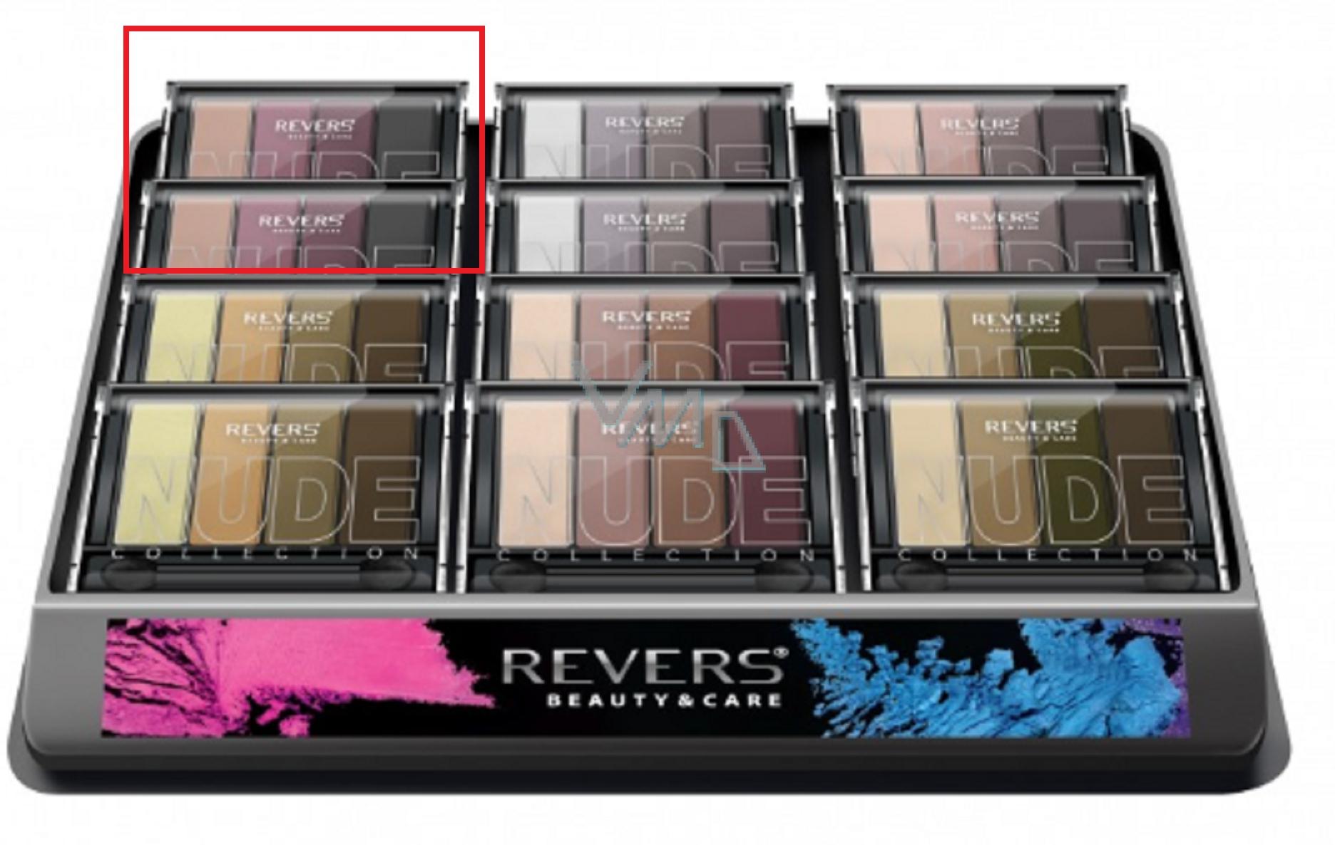 Revers Gallant Nude Eye Shadow oční stíny 12, 6 g