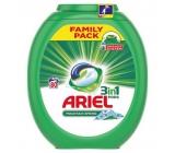 Ariel 3v1 Mountain Spring gelové kapsle na praní pro krásně čisté a voňavé prádlo bez skvrn 80 x 27 g