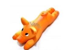 Canis Latex hračka pískací - prasátko pro psy, délka 13 cm