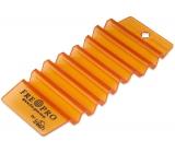 Fre Pro Hang Tag Mango interiérová vůně, osvěžovač, víceúčelový vonný závěs oranžový 13,5 x 6,2 x 1,2 cm 35 g